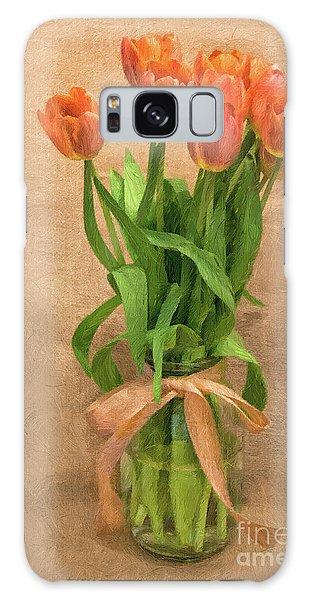 Tulip Impasto Galaxy Case