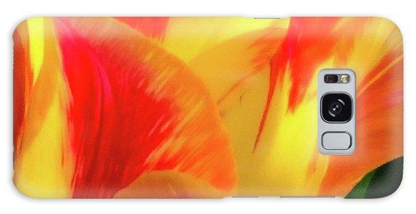 Tulip In Bloom Galaxy Case