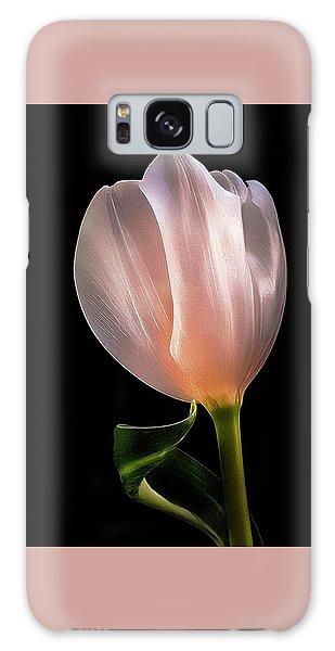 Tulip In Light Galaxy Case
