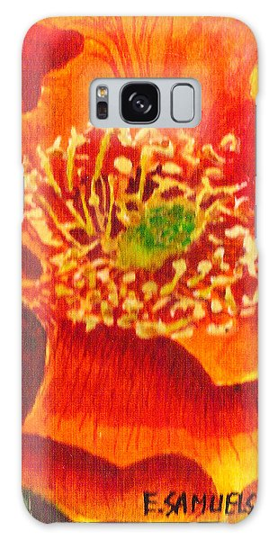 Tulip Prickly Pear Galaxy Case