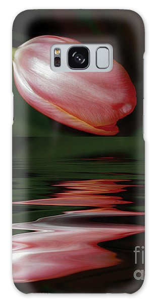 Tulip Reflections Galaxy Case