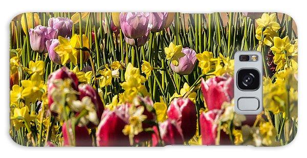 Tulip Spring Galaxy Case