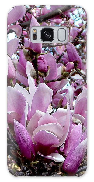 Tulip Tree Galaxy Case by Mark Barclay