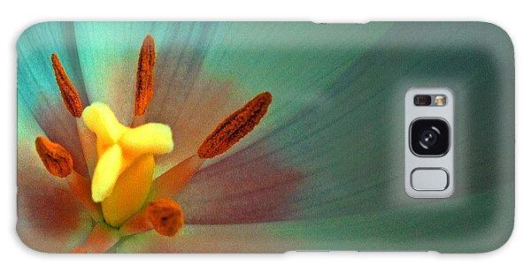 Tulip Trends Galaxy Case by Gwyn Newcombe