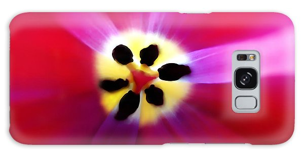 Tulip Vivid Floral Abstract Galaxy Case