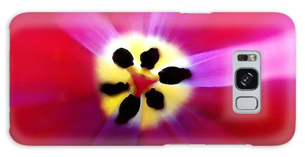 Tulip Vivid Floral Abstract Galaxy Case