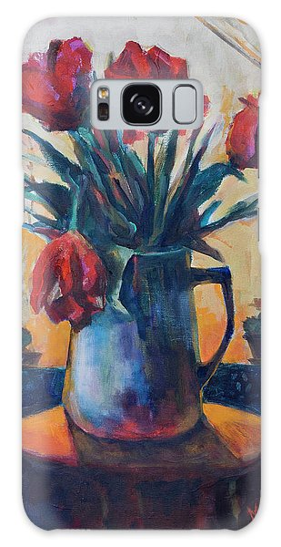 Tulips And Cacti Galaxy Case