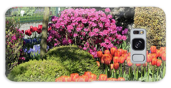 Tulips And Rhodies Galaxy Case