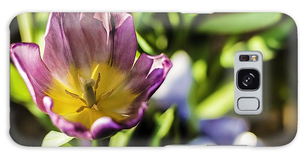 Tulips At The End Galaxy Case