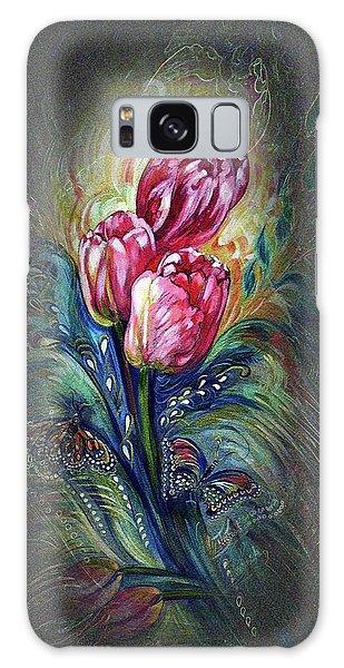 Tulips Fantasy Galaxy Case