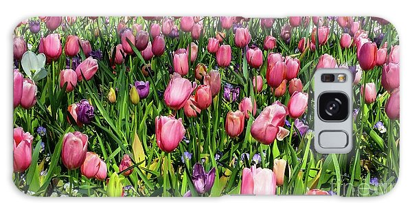 Tulips In Bloom Galaxy Case