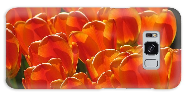 Tulips In Light Galaxy Case