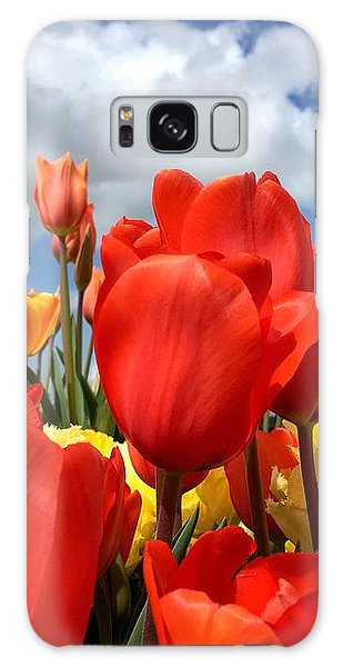 Tulips In The Sky Galaxy Case