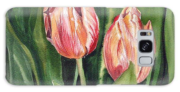 Pollen Galaxy Case - Tulips  by Irina Sztukowski