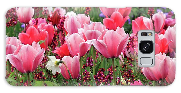 Galaxy Case featuring the photograph Tulips by James Eddy