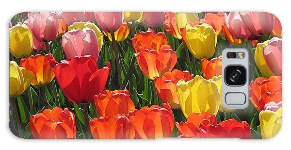 Tulips Like Sunlight Galaxy Case