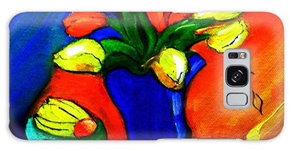 Tulips On My Table Galaxy Case