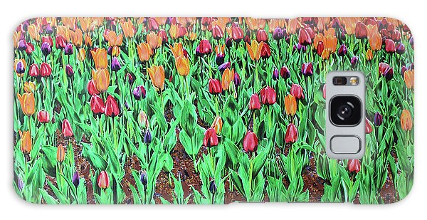 Galaxy Case featuring the painting Tulips Tulips Everywhere by Deborah Boyd