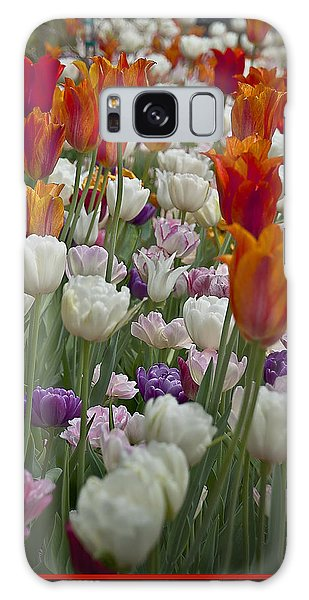 Tulips... Tulips... Everywhere Galaxy Case