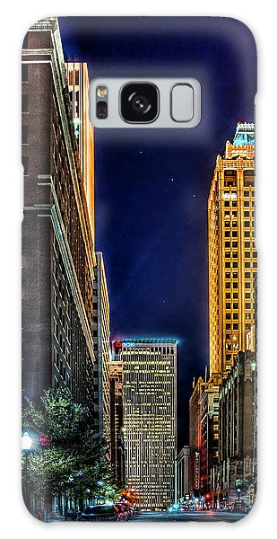 Tulsa Nightlife Galaxy Case by Tamyra Ayles