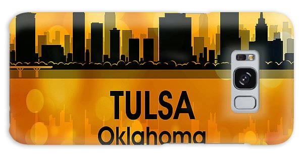 Ok Galaxy Case - Tulsa Ok 3 Squared by Angelina Tamez