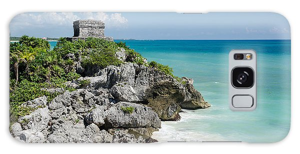 Tulum Ruins Galaxy Case