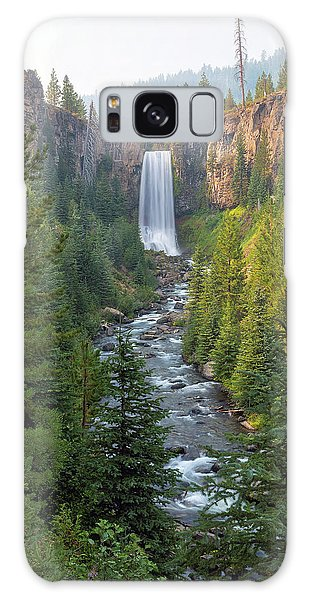 Tumalo Falls In Bend Oregon Galaxy Case