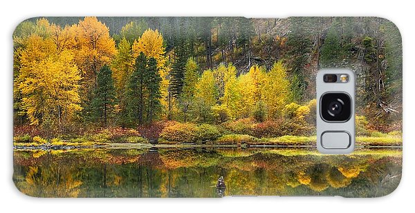 Tumwater Reflections Galaxy Case