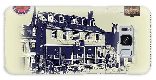 Tun Tavern - Birthplace Of The Marine Corps Galaxy Case by Bill Cannon