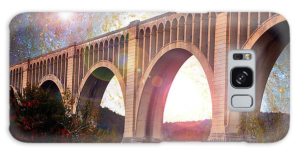 Galaxy Case - Tunkhannock Viaduct, Nicholson Bridge, Starry Night Fantasy by A Gurmankin NASA