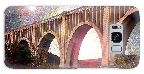 Tunkhannock Viaduct, Nicholson Bridge, Starry Night Fantasy Galaxy Case