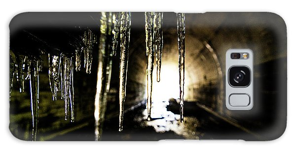 Dungeon Galaxy Case - Tunnel Icicles by Pelo Blanco Photo
