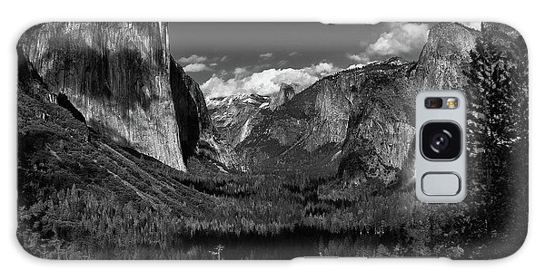 Tunnel View Black And White  Galaxy Case