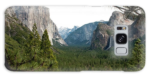 Tunnel View Framed Galaxy Case