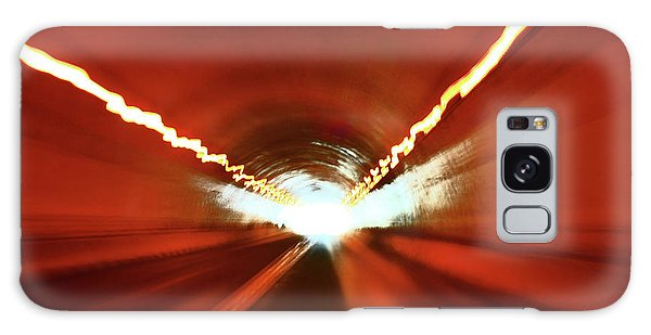 Tunnel Vision Galaxy Case by Gray  Artus