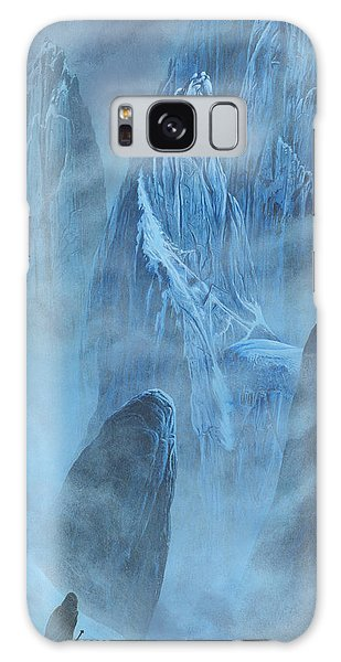 Galaxy Case featuring the painting Tuor And Voronwe Approach Gondolin by Kip Rasmussen
