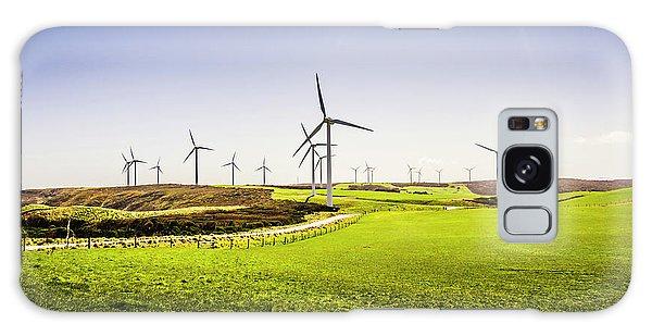 Wind Power Galaxy Case - Turbine Fields by Jorgo Photography - Wall Art Gallery