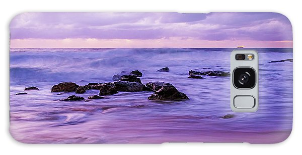 Turbulent Daybreak Seascape Galaxy Case