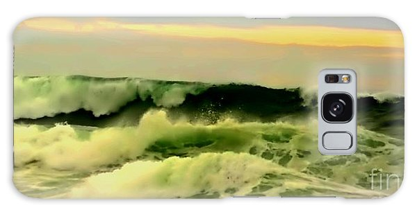 Turbulent Ocean Swell Galaxy Case by Blair Stuart