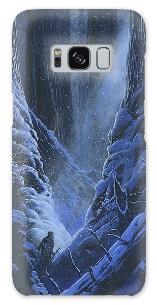 Galaxy Case featuring the painting Turin Approaches The Pool Of Ivrin by Kip Rasmussen