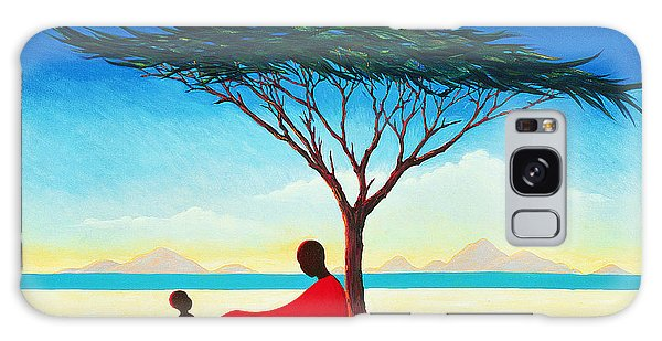 Desert Galaxy Case - Turkana Afternoon by Tilly Willis