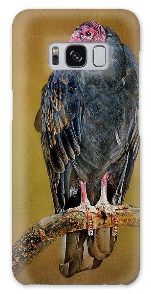 Turkey Vulture Galaxy Case by Nikolyn McDonald