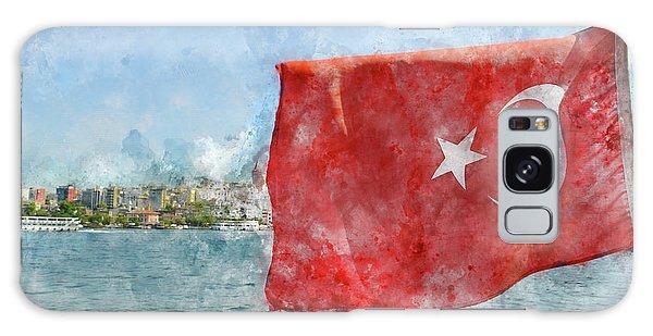 Turkish Flag Galaxy Case