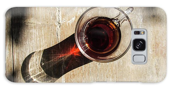 Turkish Tea On A Wooden Table Galaxy Case