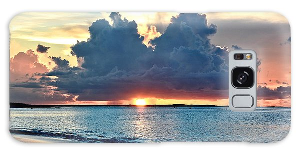 Turks And Caicos Grace Bay Beach Sunset Galaxy Case