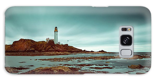 Turnberry Lighthouse Galaxy Case by Ian Good