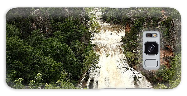Turner Falls Waterfall Galaxy Case