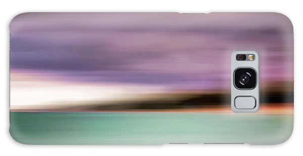 Galaxy Case featuring the photograph Turquoise Waters Blurred Abstract by Adam Romanowicz
