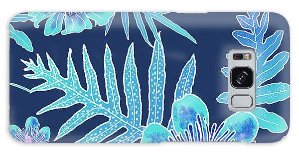 Turquoise Batik - Laua'e 12 Galaxy Case