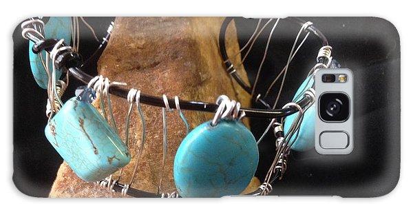 Turquoise Cabochon Bracelet Galaxy Case